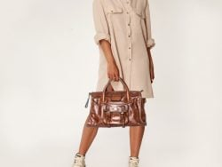 Chloe Brown Leather Edith Tote