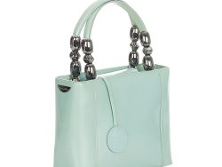 Dior Green/Light Green Leather Malice Top Handle Bag