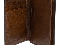 Givenchy Brown Textured Leather Card Holder