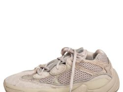 Yeezy x Adidas Beige Cotton Knit And Suede 500 Taupe Light Sneakers Size 40 2/3