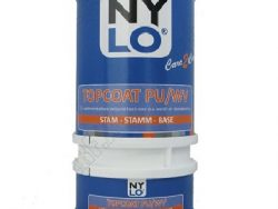 5 ltr Nylo Topcoat PU/WV mat wit