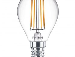 PHILIPS - LED Lamp - CorePro Luster 827 P45 CL - E14 Fitting - 4.5W - Warm Wit 2700K   Vervangt 40W