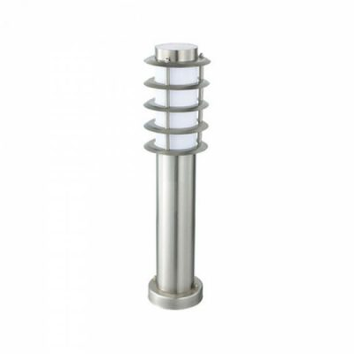 PHILIPS - LED Tuinverlichting - Staande Buitenlamp - CorePro Lustre 827 P45 FR - Nalid 3 - E27 Fitting - 5.5W - Warm Wit 2700K - Rond - RVS