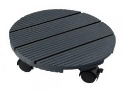 Plantentrolley HKC rond 30cm maximaal 50 kg antraciet