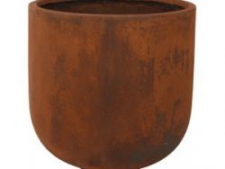Ter Steege Static Couple S 40x41 cm bloempot roest