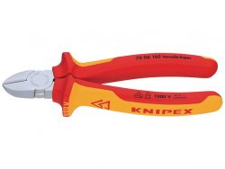 Knipex 70 06 160 Diagonal Cutting Pliers Vde 160 Mm