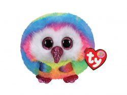 TY Puffies Knuffel Uil Owen 8 cm