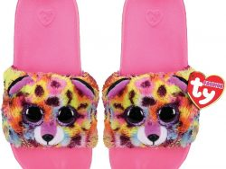 TY Fashion Slippers Luipaard Giselle Maat 36-38