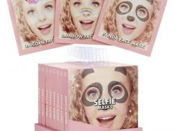 Who's That Girl Selfie Mask Assorti