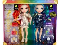 Rainbow High Twins Laurel and Holly De'vious