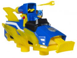 Paw Patrol Mighty Pups Charged Up Chase met Hovercraft + Licht en Geluid