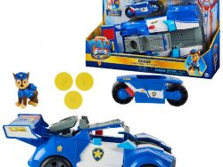 Paw Patrol The Movie 2-in-1 Politieauto van Chase