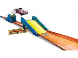 Hot Wheels Track Builder Long Jump Pack + Auto