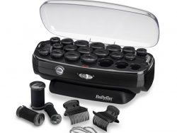 Babyliss RS035E Thermo-Ceramic Rollers Krulset Zwart/RVS