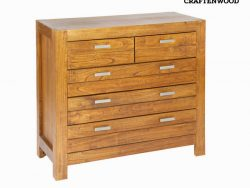 Console 5 lades (114 x 45 x 88 cm) - Be Yourself Collectie by Craftenwood