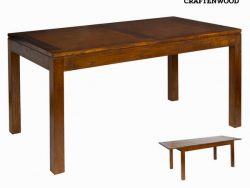 Eettafel Mindi hout (160 x 90 x 80 cm) - Chocolate Collectie by Craftenwood