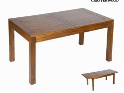 Eettafel Mindi hout (140 x 90 x 78 cm) - Be Yourself Collectie by Craftenwood