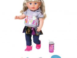 Zapf Creation Baby Born Soft Touch Sister Pop + Accessoires