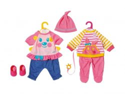 Baby Born Outfit 4-delig Assorti