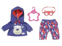 Baby Born Superheldenoutfit 4-delig