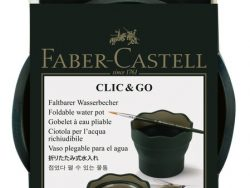 Faber Castell FC-181520 Watercup Clic & Go Donkergroen