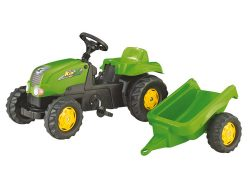 Rolly Toys 012169 RollyKid-X Traptractor + Aanhanger