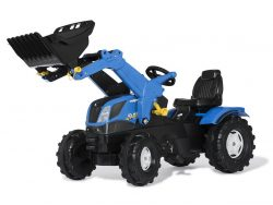 Rolly Toys 611256 RollyFarmtrac NH Tractor met Lader