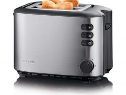 Severin AT2514 RVS Automatische Broodrooster 850W