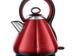 Russell Hobbs 21885-70 Legacy Red Waterkoker 1.7L 2400W Rood/RVS