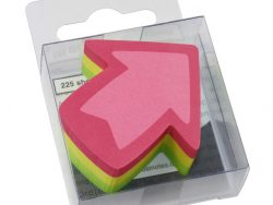 Info Notes IN-5841-39 Info Shaped Sticky Notes 50x50mm Pijl Assorti 225 Vel