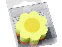 Info Notes IN-5842-39 Info Shaped Sticky Notes 50x50mm Bloem Assorti 225 Vel