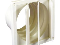 Scanpart Muurrooster 0790000005 100-130mm Wit