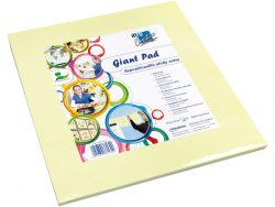 Info Notes IN-8754-01 300x300mm Giant Pad Geel Blok A 50 Vel