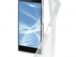Hama Cover Crystal Clear Voor Sony Xperia XZ1 Transparant