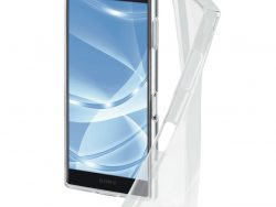 Hama Cover Crystal Clear Voor Sony Xperia XZ2 Compact Transparant