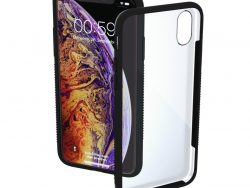 Hama Cover Frame Voor Apple IPhone Xs Max Transparant/zwart