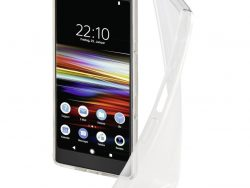 """Hama Cover """"Crystal Clear&quot Voor Sony Xperia L3 Transparant"""