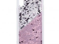 Hama Cover Paillettes Voor Apple IPhone XR Pink/zilver
