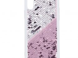 Hama Cover Paillettes Voor Apple IPhone X/Xs Pink/zilver