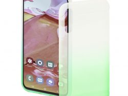 Hama Cover Colorful Voor Samsung Galaxy A70 Transparant/groen