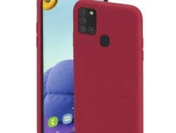 Hama Cover Finest Feel Voor Samsung Galaxy A21s Rood