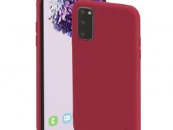 Hama Cover Finest Feel Voor Samsung Galaxy S20 (5G) Rood
