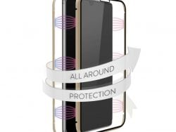 White Diamonds 360° Glass Cover for Samsung Galaxy A41 Gold