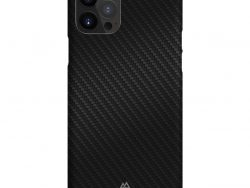 Black Rock Ultra Thin Iced Cover for Apple iPhone 12/12 Pro Black/Carbon