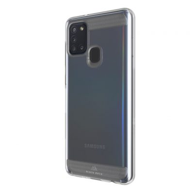 Black Rock Air Robust Cover for Samsung Galaxy A21 S Transparent