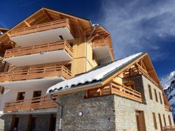 Appartement Le Crystal Blanc met cabine