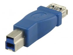 Valueline VLCP61900L Usb 3.0 Adapter B Male - A Female Blauw
