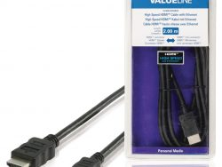 Valueline Vlmb34500b20 High Speed Hdmi™-kabel met Ethernet Hdmi™-connector - Hdmi™ Mini-connector 2
