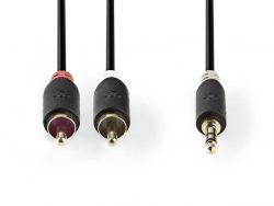 Nedis CABW22200AT10 Stereo Audiokabel 3