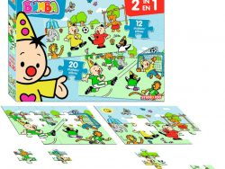 Bumba 2in1 Voetbal Puzzel 12st-20st